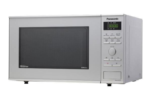 Panasonic NN GD 361 MEPG Mikrowelle Edelstahl