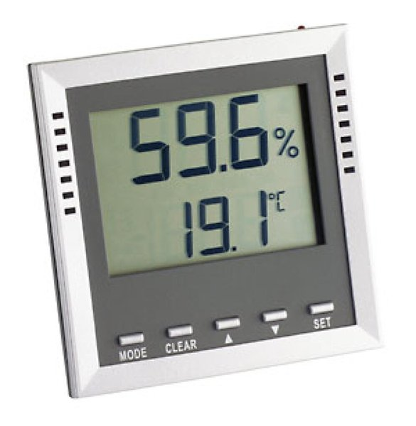 TFA 30.5010 Klima Guard Hygrometer grau/silber