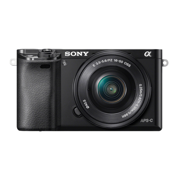 Sony Alpha 6000 Kit schwarz + SEL-P