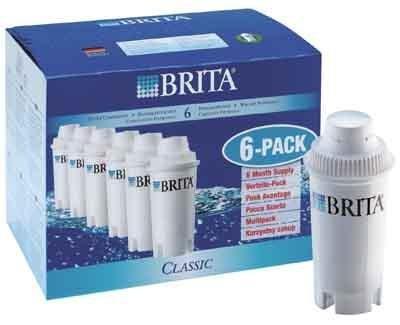 1x6 Brita Filterkartuschen Pack 6