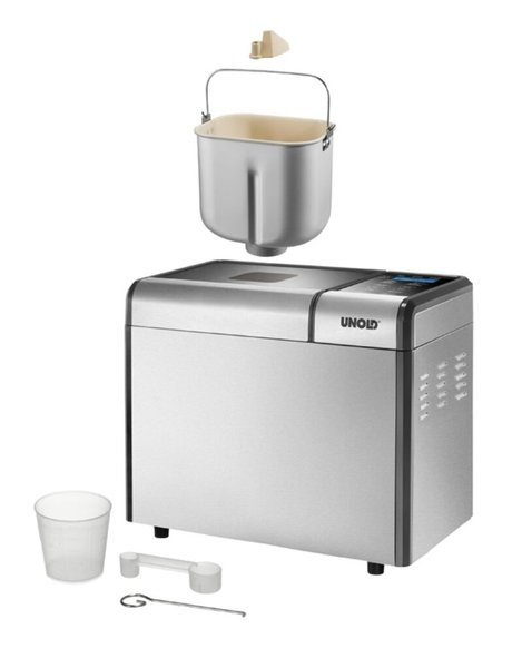 Unold 68415 Brotbackautomat Top Edition, silber