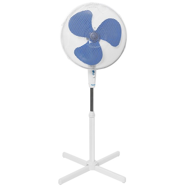 Standventilator Ø 45 cm, weiß, 40 Watt, 3 Geschwindigkeiten,
