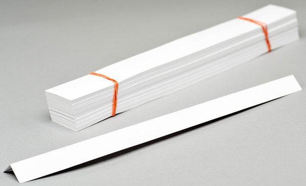 Urkunden-Heftstreifen 170 g/qm, weiß, 297x30 mmVE = Pack = 250 Stück