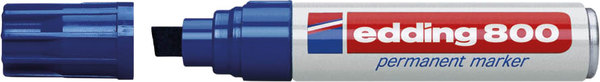 Marker 800 Keil 4-12mm blau nachfüllbar mit edding T 25