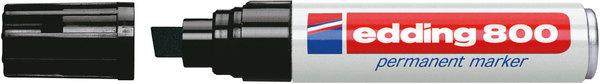 Marker 800 Keil 4-12mm schwarz nachfüllbar mit edding T 25