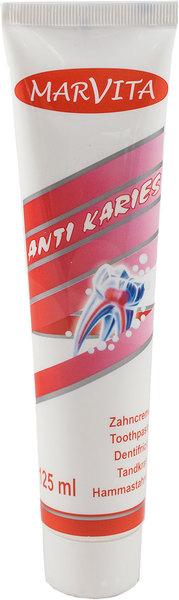 Zahncreme Marvita Anti Karies 125 ml VE = 1 Stück = 1 Tube