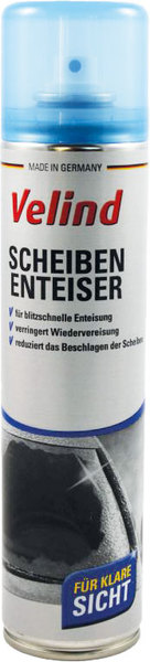 Scheibenenteiser Velind, Spray, 400 ml, für sofortige Reinigung, ver-VE = 1 Dose = 400 ml