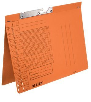 Pendelhefter A4, Amtsheftung, orange br 320g/qm ManilakartonVE = 50 Stück