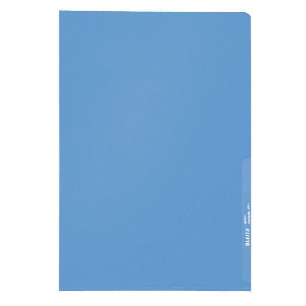 Sichthülle A4 PP 0,13mm blau KantenschweißnahtVE = 1 Packung = 100 Stück