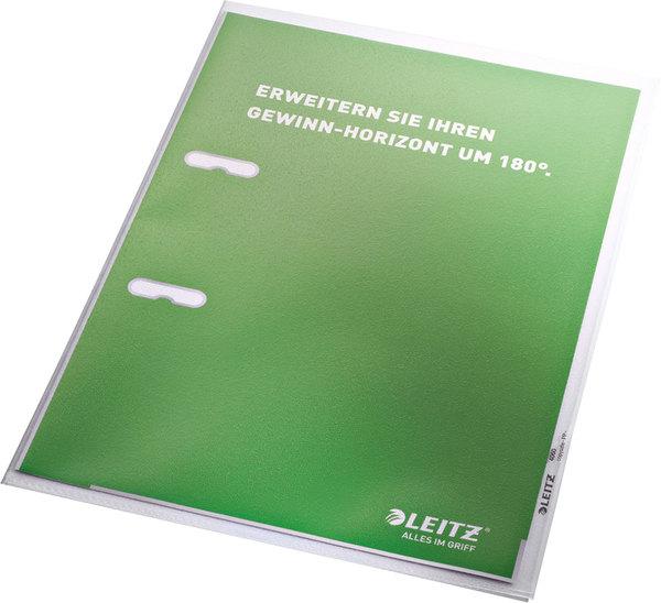 Sichthülle A4 PP 0,13mm grün KantenschweißnahtVE = 1 Packung = 100 Stück