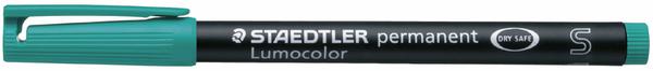 Folienschreiber 0,4mm permanent grün nachfüllbar