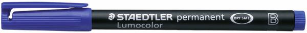 Folienschreiber 1-2,5mm permanent blau nachfüllbar