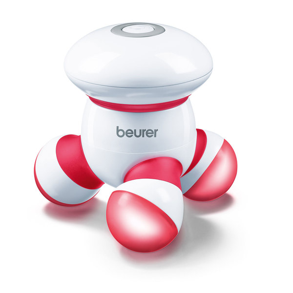 Beurer MG 16 rot Mini Massagegerät für unterwegs