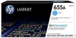 Toner Cartigde 655A cyan für Color LaserJet Enterprise M652n