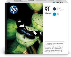 Druckkopf 91 mattschwarz, cyan für Designjet Z6100