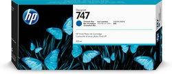 Tintenpatrone 747 chrom. blau 300ml für DesignJet Z9+