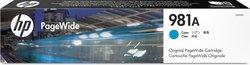 Tintenpatrone 981A cyan für PW Enterprise Color MFP 586dn