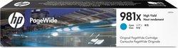 Tintenpatrone 981X cyan für PW Enterprise Color MFP 586dn