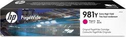 Tintenpatrone 981Y magenta für PW Enterprise Color MFP 586dn