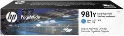 Tintenpatrone 981Y cyan für PW Enterprise Color MFP 586dn