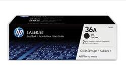 Toner Cartridge 36A schwarz für LaserJet M1120 MFP, M1120n MFP,1 VE = 1 Packung á 2 Stück