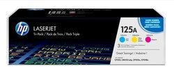 Toner Cartridge 125A farbig für Color LaserJet CP1215, CP15151 VE = 1 Packung á 3 Stück