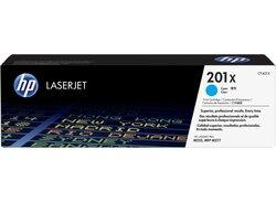 Toner Cartridge 201X, cyan für Color LaserJet Pro200, M252dn,