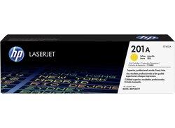 Toner Cartridge 201A, gelb für Color LaserJet Pro200, M252dn,