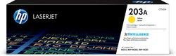 Toner Cartridge 203A gelb für Color LaserJet Pro M254dw, M254nw,