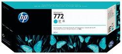 Tintenpatrone 772 cyan für Designjet T1200, T1200 HD1 VE = 1 Pack á 1 Stück