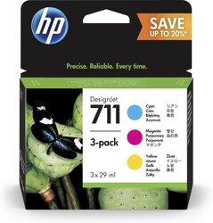 Tintenpatrone 711 farbig C/M/Y für Designjet T120 ePrinter,VE = 1 Pack à 3 Stück