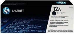 Toner Cartridge 12A schwarz für LaserJet 1010, 1010w, 1012, 1015,1 VE = 1 Packung á 1 Stück