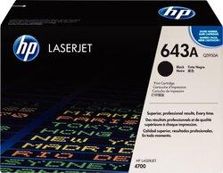 Toner Cartridge 643A schwarz für Color LaserJet 4700, 4700N, 4700DN,