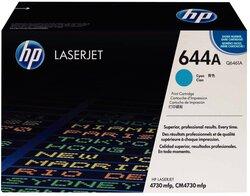 Toner Cartridge 644A cyan für Color LaserJet 4730MFP, 4730XMFP,