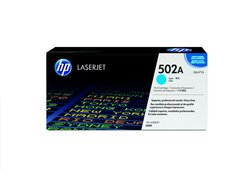 Toner Cartridge 502A cyan für Color LaserJet 3600, 3600dn, 3600n