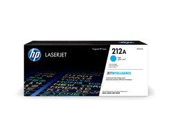 Toner Cartridge 212A, cyan, für Color LaserJet Enterprise M554/M555, Enterprise Flow MFP M578, für ca. 4.500 Seiten