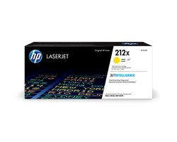 Toner Cartridge 212X, gelb, für Color LaserJet Enterprise M554/M555, Enterprise Flow MFP M578, für ca. 10.000 Seiten