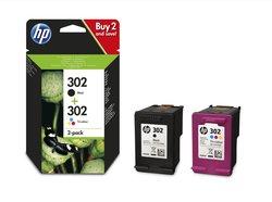 Kombipackung 302 Deskjet 1110, 2130, 3630, Officejet 3830, 4650, ENVY 45201 VE = 1 Packung á 2 Stück