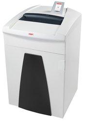 Aktenvernichter HSM SECURIO P36i, 1,9x15 mm Partikel, 16-18 Blatt, Sicherheitsstufe 5, Maße: 580x1020x550 mm, Farbe: weiß, Auffangbehälter 145 Liter, Papier, Heft- und Büroklammern, Kreditkarten, Eingabebreite 330 mm, Sicherheitsstufe: P-5/T-5/E-4/F-2, Gewicht: 68 kg