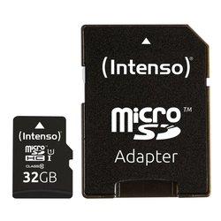 Micro-SD UHS I Speicherkarte 32GB Premium, inkl. SD-Adapter