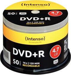 Rohling DVD+R 4,7GB, 16x, Spindel 50er