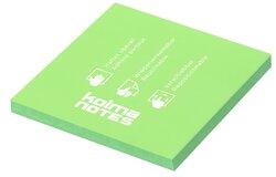 Haftnotizen NOTES, 76x76, 100 Blatt, grün, PP, haften statisch,