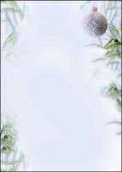 Weihnachts-Motiv-Papier, A4, 90 g Winter Mood, FeinpapierVE = 100 Blatt