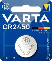 Knopfzelle CR24500 Lithium 3,0V 560mAhVE = 1 Blister = 1 Knopfzelle