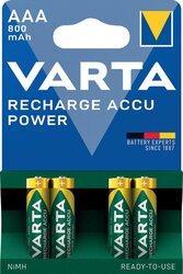 Ni-MH-Recharge Accu Micro AAA Ready2Use, 1,2V 800mAh LonglifeVE = 1 Blister = 4 Accus