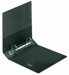 Ringordner A6 PVC schwarz 2-Ring 25 mm