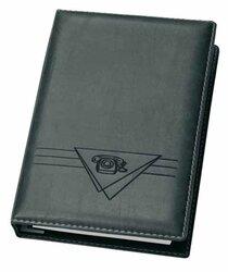 Telefonbuch Exquisit schwarz 4-Ring 16 mm