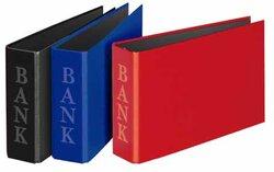 Bankordner A6 quer Classic bla 2-R-Combi 30mm