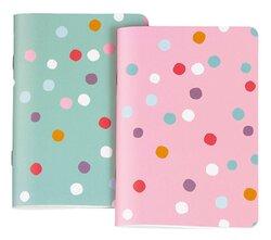 Notizbuch A6 dots 2 Motive sortiertVE = Packung = 6 Stück