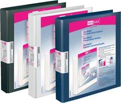 Präsentationsringbuch Velodur A4 2-Ring 25mm Ringdurchmesser schwarz